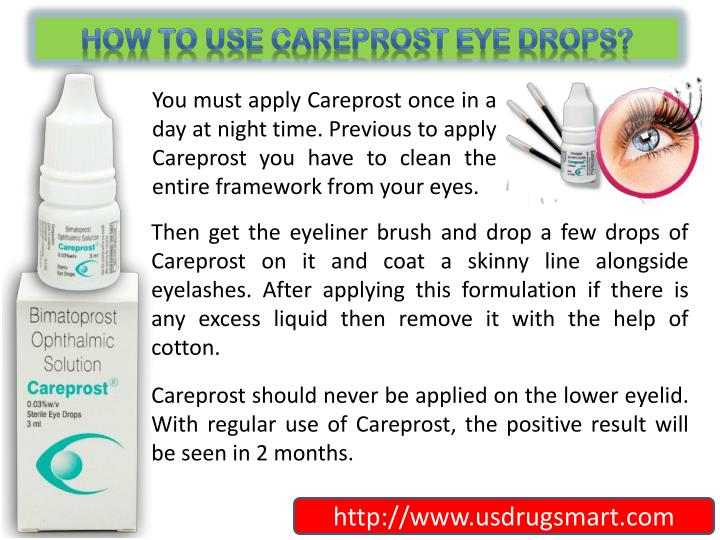 How to use Careprost Eye Drops?