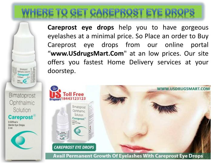 Where to get Careprost Eye Drops
