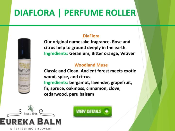 DIAFLORA | PERFUME ROLLER