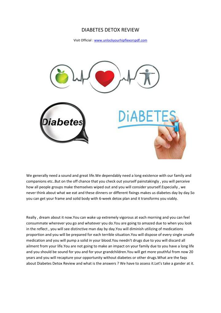 DIABETES DETOX REVIEW