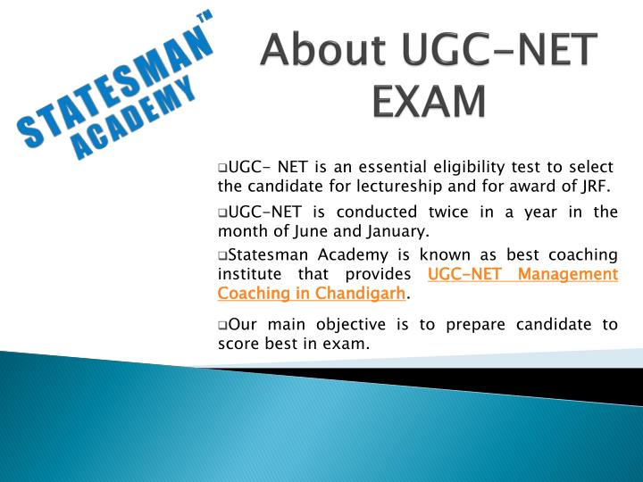 About ugc net exam