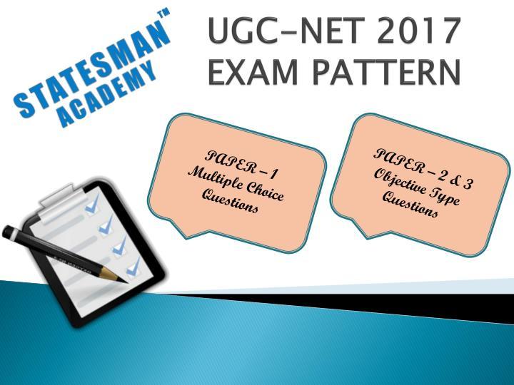 UGC-NET 2017