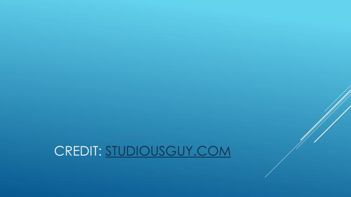 CREDIT: STUDIOUSGUY.COM