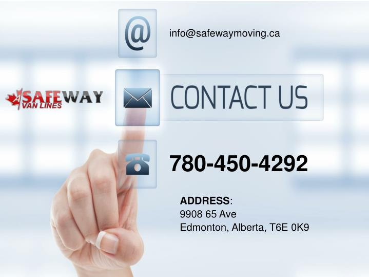 info@safewaymoving.ca