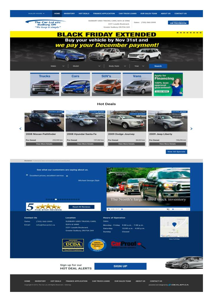 Leading used car dealers greater sudbury