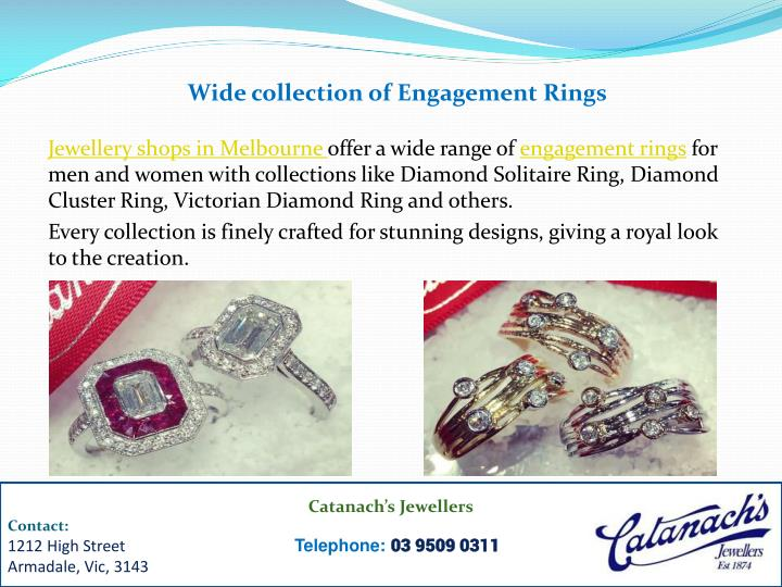 Wide collection of Engagement Rings