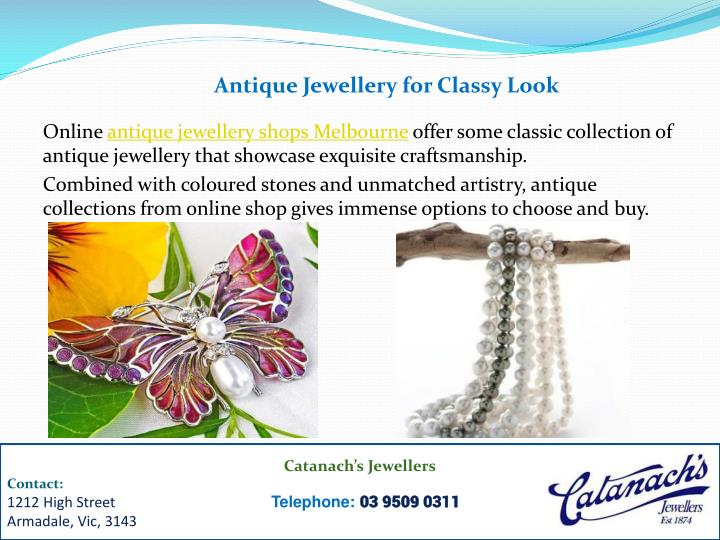 Antique Jewellery for Classy