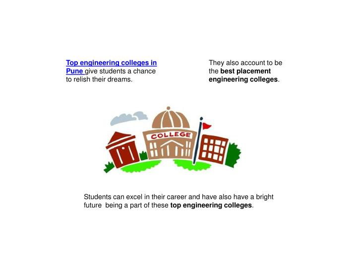 Top engineering colleges in