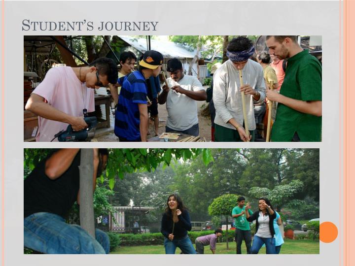 Student's journey