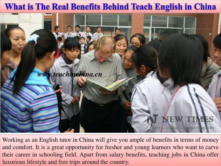 What is The Real Benefits Behind Teach English in China