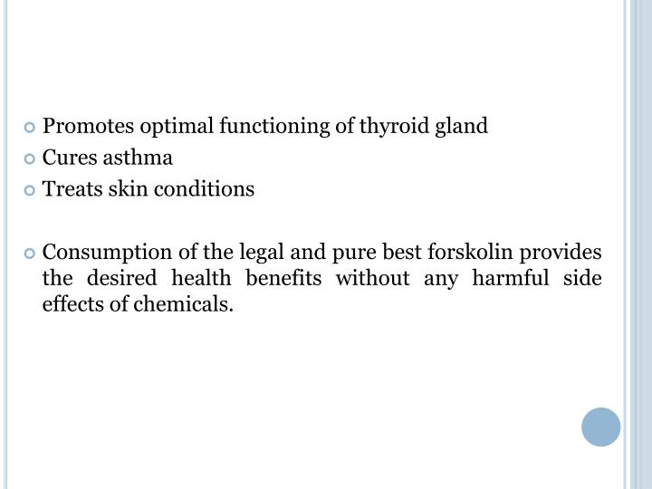 Promotes optimal functioning of thyroid gland