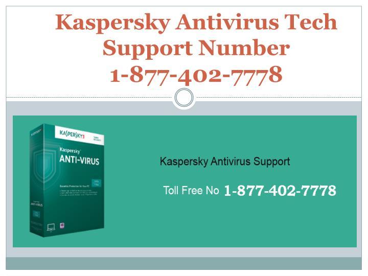 Kaspersky Antivirus Tech Support Number