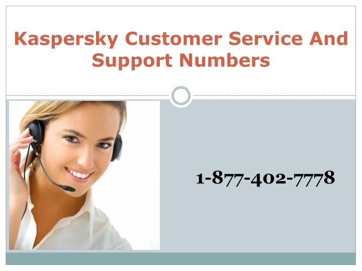 Kaspersky Customer Service And Support