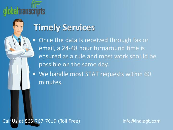Timely Services