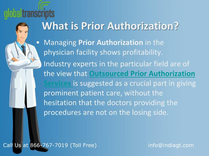 What is prior authorization