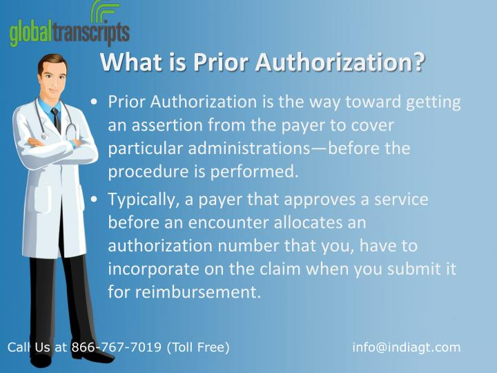 What is prior authorization1