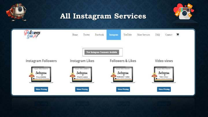 All instagram services