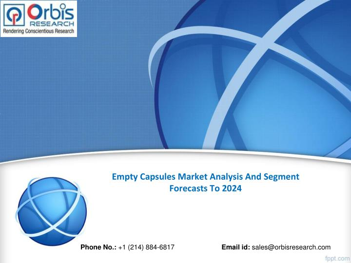 Empty capsules market analysis and segment forecasts to 2024