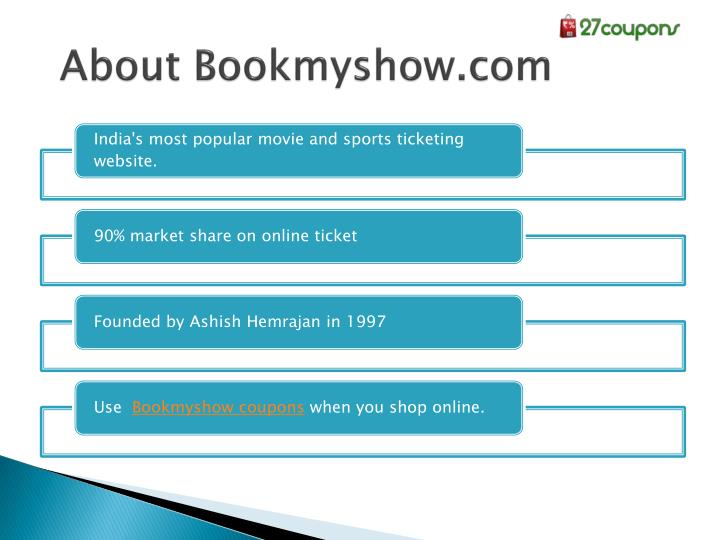About Bookmyshow.com