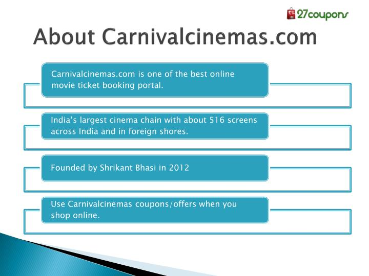 About Carnivalcinemas.com