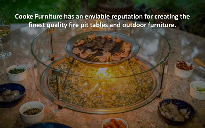 Cooke Furniture has an enviable reputation for creating the