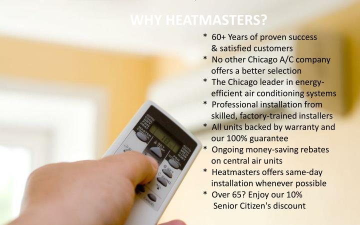 WHY HEATMASTERS?