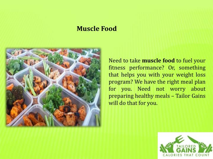Muscle Food