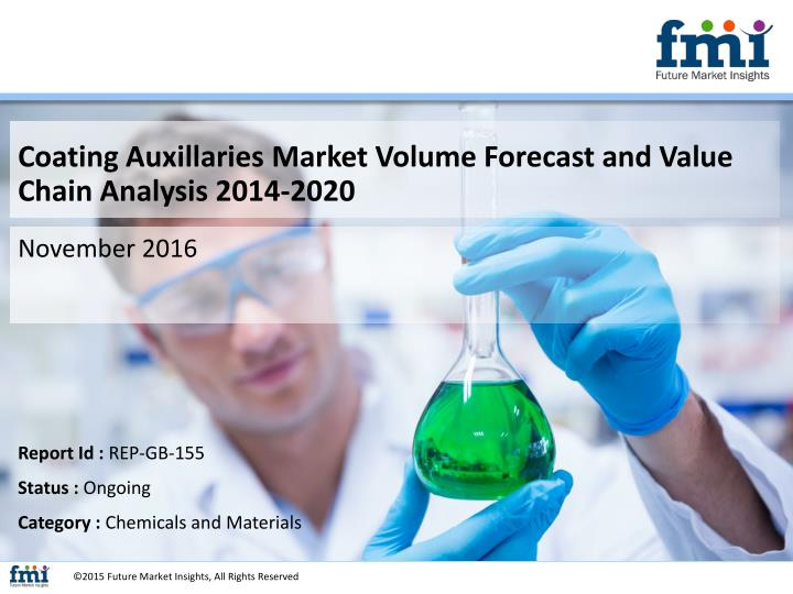 Coating Auxillaries Market Volume Forecast and Value