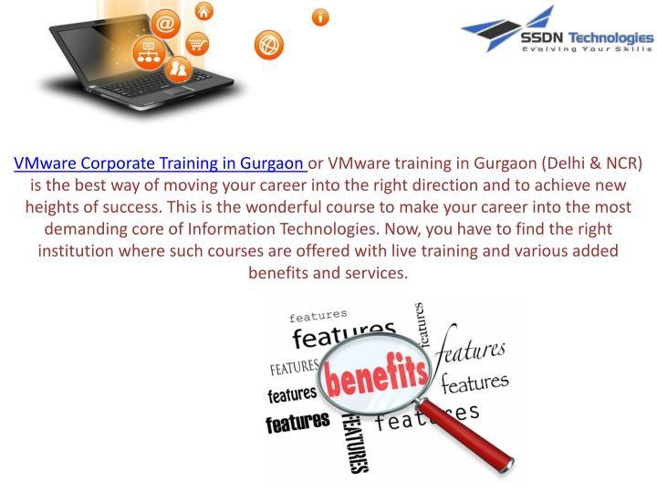 VMware Corporate Training in Gurgaon