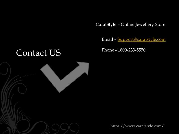 CaratStyle – Online Jewellery Store