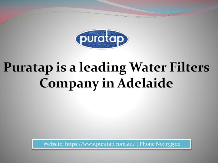 Puratap is a leading Water Filters Company in Adelaide
