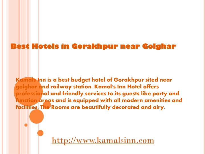 Best Hotels in Gorakhpur near