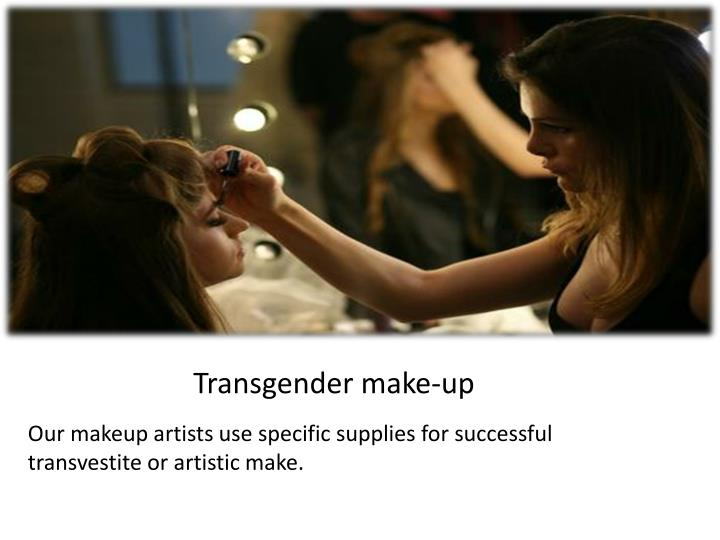 Transgender make-up