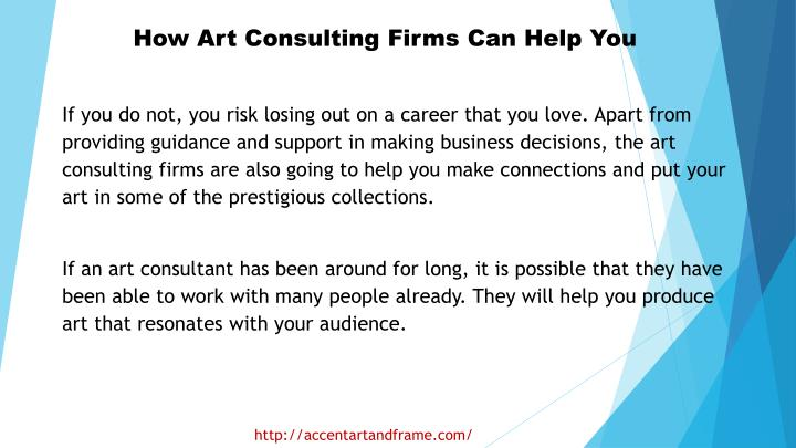 How Art Consulting Firms Can Help You