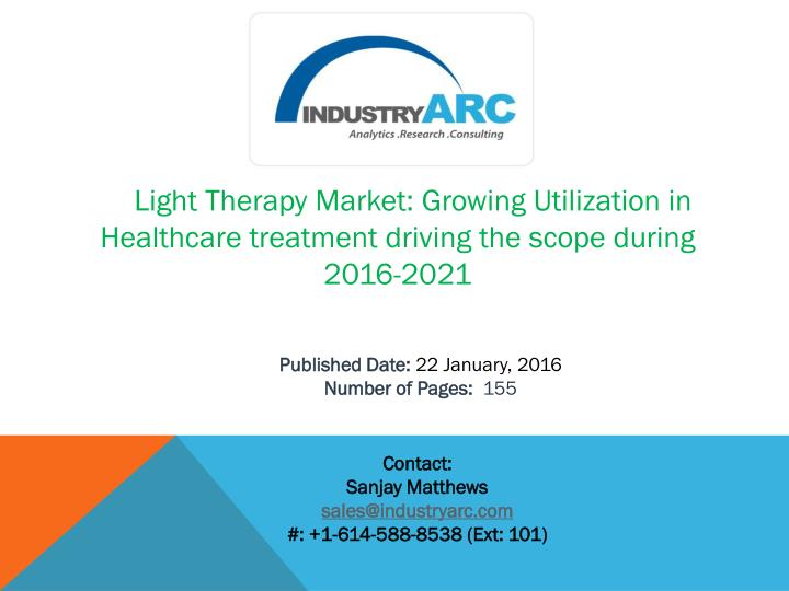 Light Therapy Market: