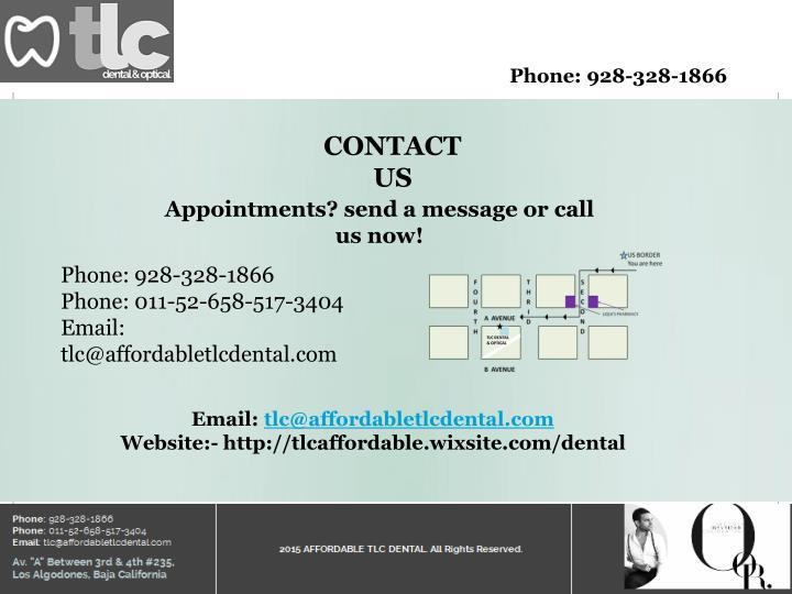 Phone: 928-328-1866