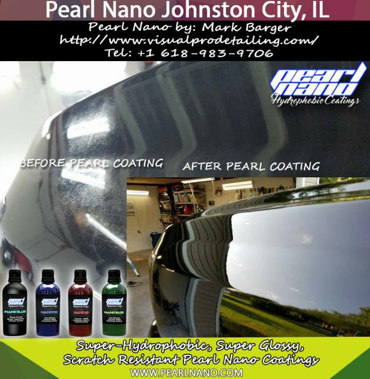 Johnston city il ceramic coating solutions by visual pro detailing