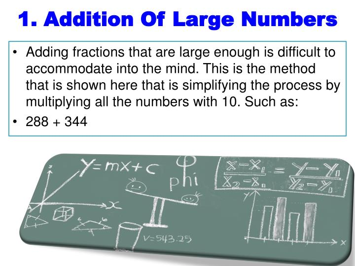 1. Addition Of Large Numbers