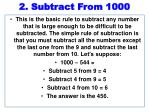 2 subtract from 1000