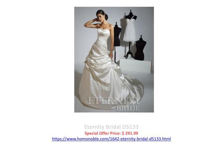 Eternity Bridal D5133