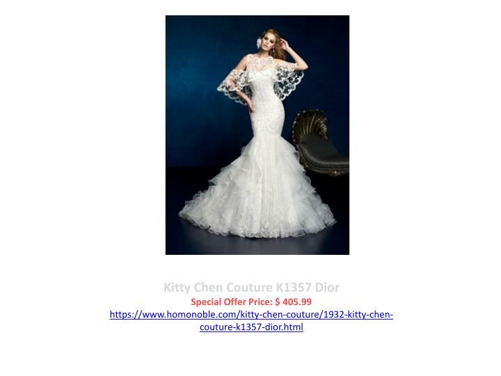 Kitty Chen Couture K1357 Dior
