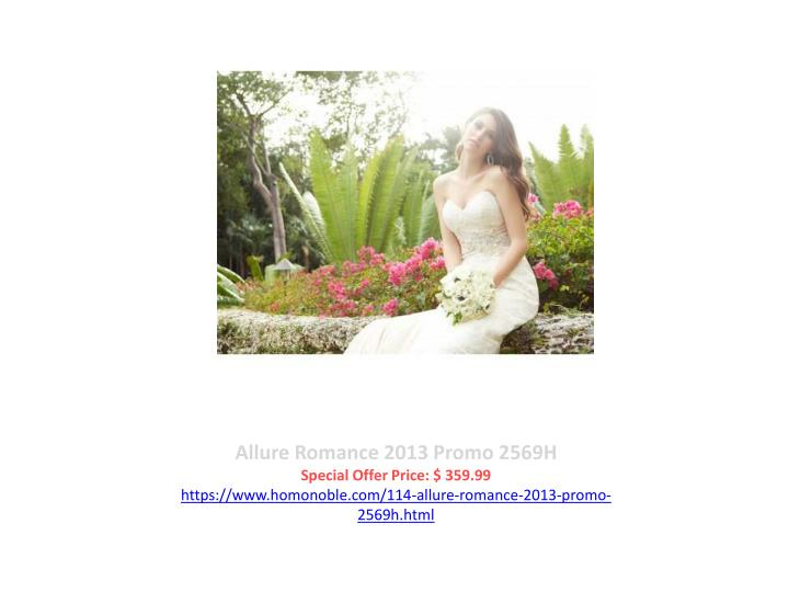 Allure Romance 2013 Promo 2569H