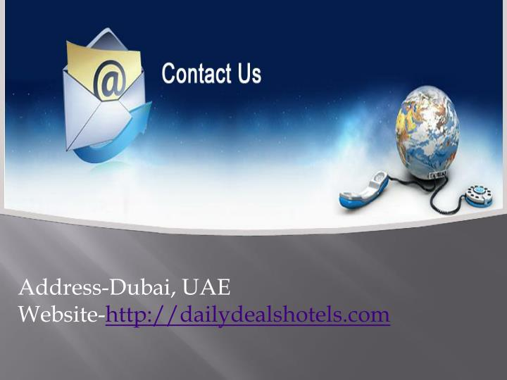 Address-Dubai, UAE