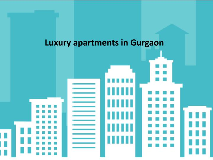 Luxury apartments in