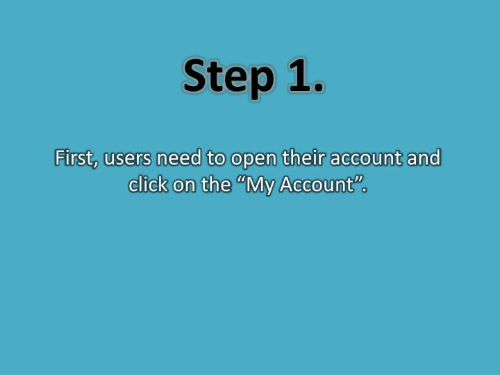 Step 1.