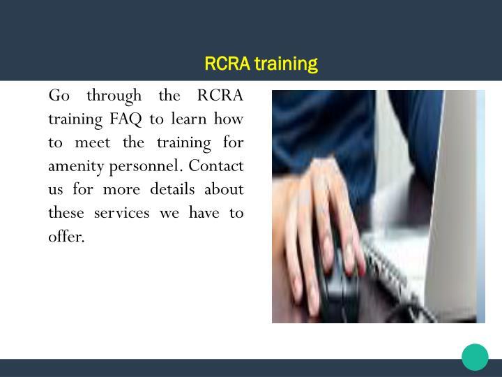 RCRA training