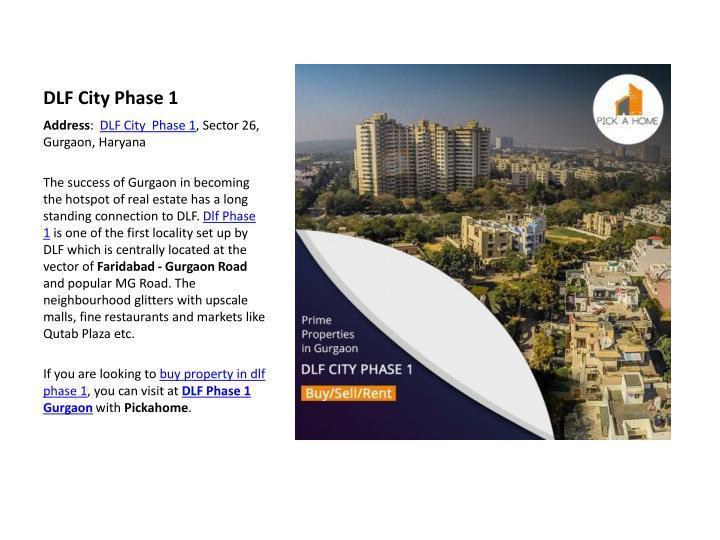 DLF City Phase 1