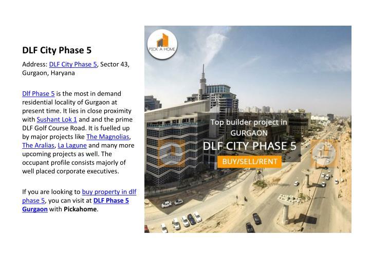 DLF City Phase 5