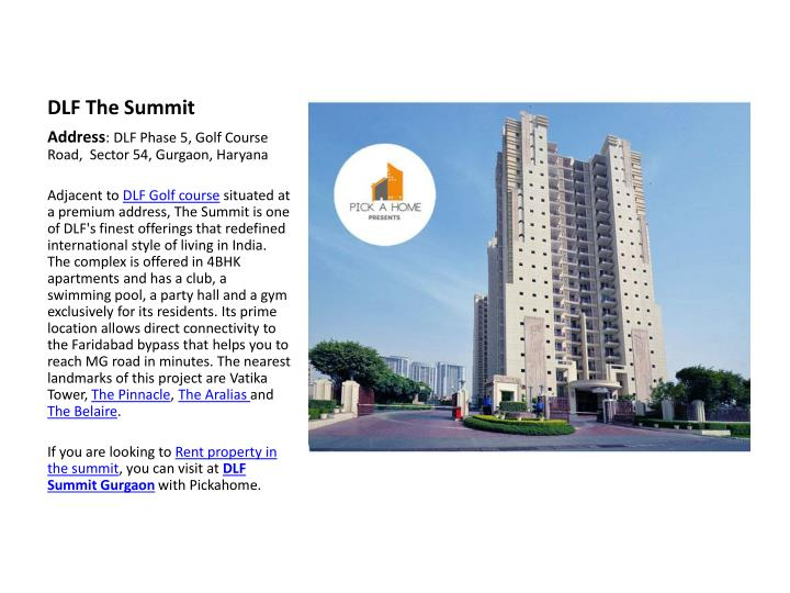 DLF The Summit