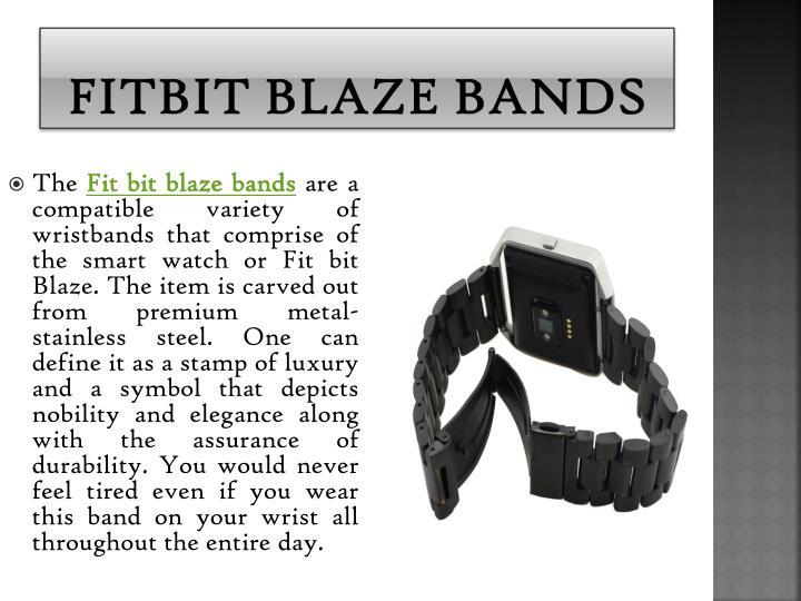 Fitbit blaze bands